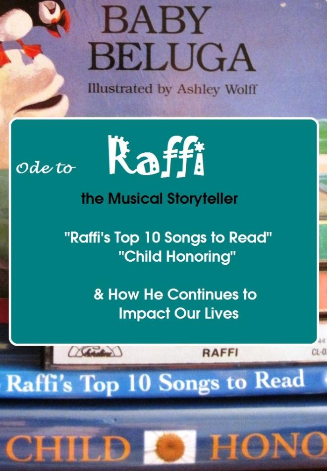 Ode to a Storyteller-RAFFI