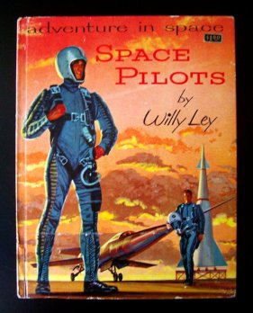 Adventures in Space Book on Etsy