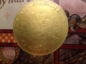Caldecott Medal on Saint George and the Dragon Retold by Margaret Hodges & Illustrated by Trina Schart Hyman