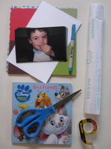 DIY Board Book Pinterest Idea from No Time For Flashcards website
