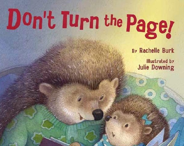 Dont Turn the Page for Reverie of a Picture Book NAME BOOKS